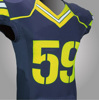 Navy blue or purple all colors custom football jersey NEW pattern