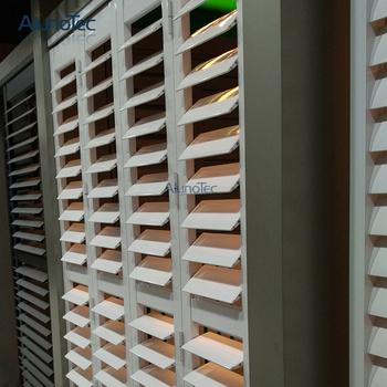Aluminum Plantation Shutter/Interior Bi Fold Window Shutters