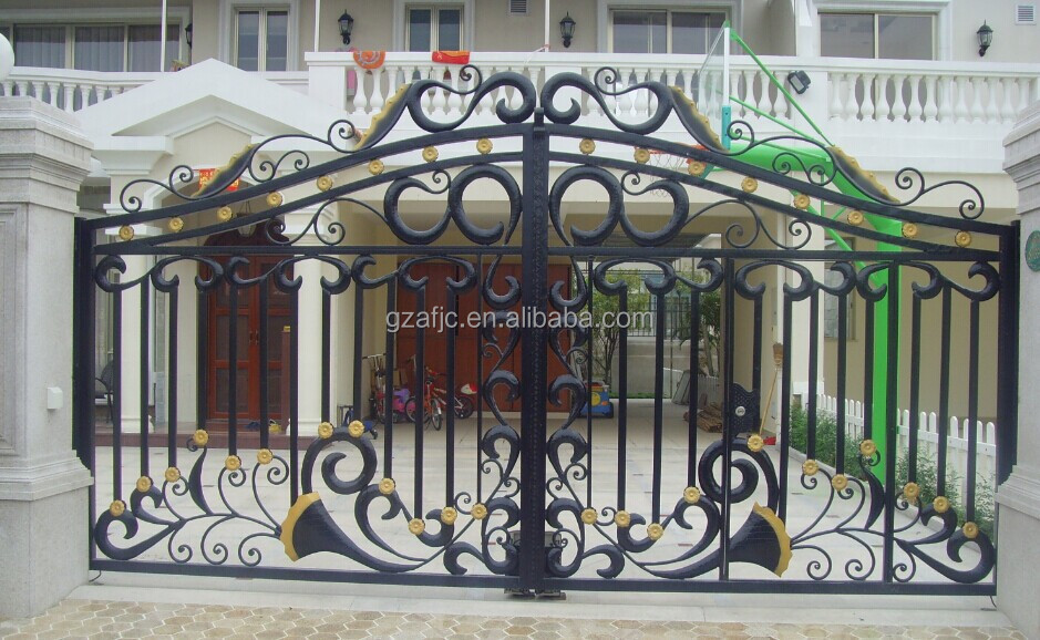 New Design Gate For Houses Metal Home Gates Iron Gate