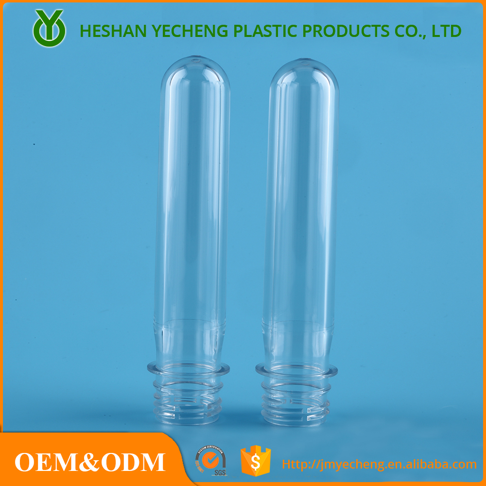 52g Neck 28mm PCO PET preform for 800ml cosmetic bottle