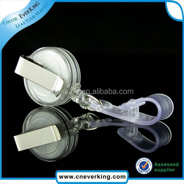 Best selling novelty retractable pen reel holder for badge holder