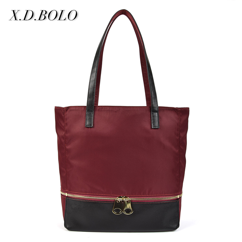 Mini Order Wholesale Best Quality Nylon Oxford Designer Women Purse Handbags from Factory