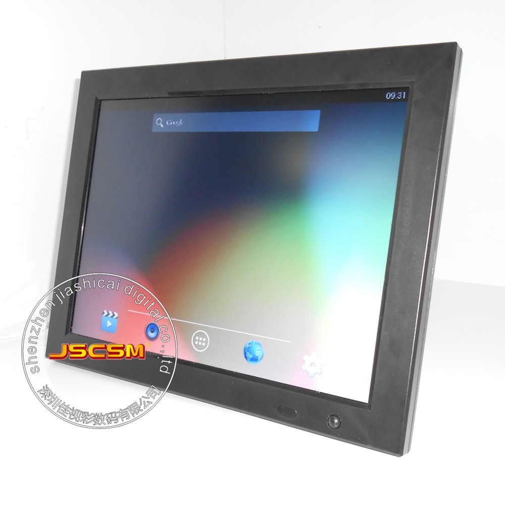 12'' inch wall mounting 3g android OS motion senser digital photo frame wifi