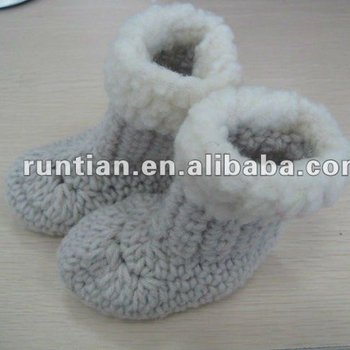 Babys 100soft Cotton Crocheted Shoes Buy Hand Crochet Baby