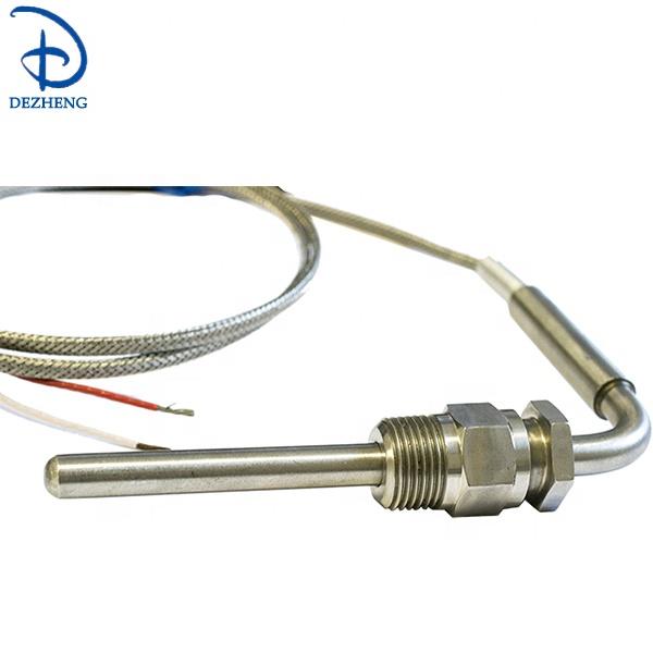 Egt K Type Abgas Temperatur Probe Sensor 1250°C 2M Abgasemissionen New