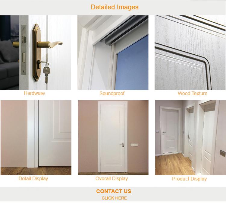 जर्मन आंतरिक दरवाजे पोलिश लकड़ी के दरवाजे अपार्टमेंट दरवाजा