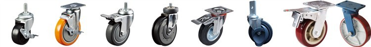 3 ton double ball bearing 10 inch wheel 360 degree caster