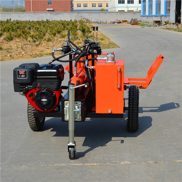 high efficiency log splitter TS400 with 4 way wedge and lift
