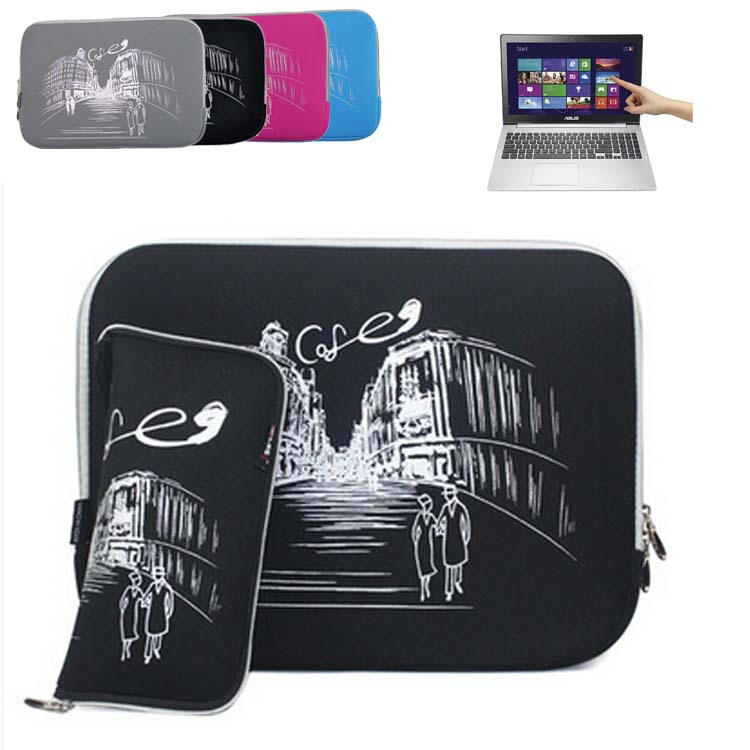 For Asus ZenBook NX500 / Pro UX501/ VivoBook V551L 15.6 inch Computer Case Laptop Bag Sleeve Slim Neoprene Protective Skin Cover