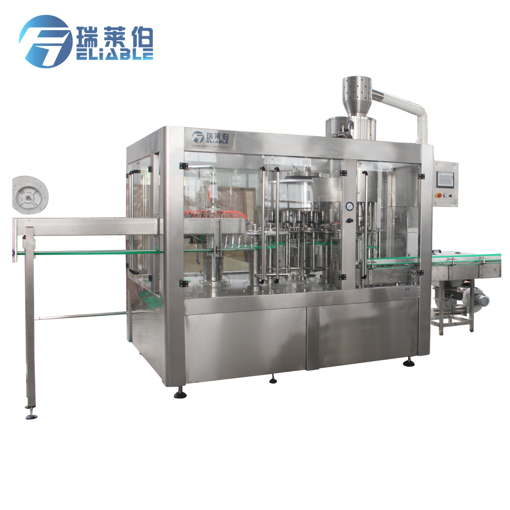 Automated PET Bottle Pure Water Filling Equipment / Machine