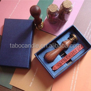 Handy DIY wooden wax seal stamp