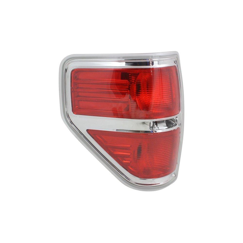 Evan-Fischer EVA15672039746 Tail Light for Ford F-150 09-14 Lens and Housing Styleside CAPA Certified Left Side