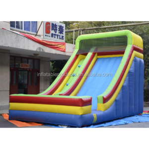 Inflatable jumping bouncer castle slide for sale.
