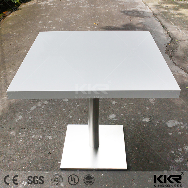 Round Modern Marble Quartz Acrylic Stone Top International Dining Table Base