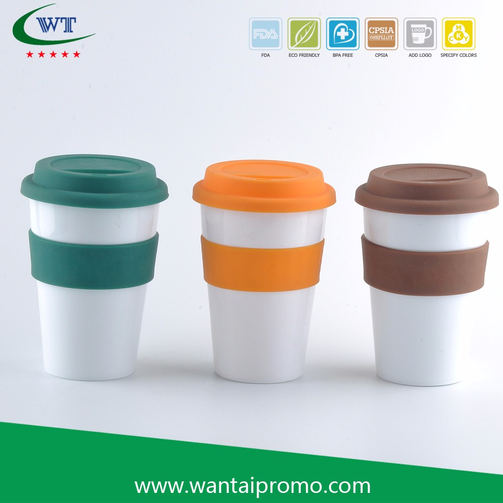 Eco Friendly Portable White Porcelain s Manufacturers Coffee To Go Cup