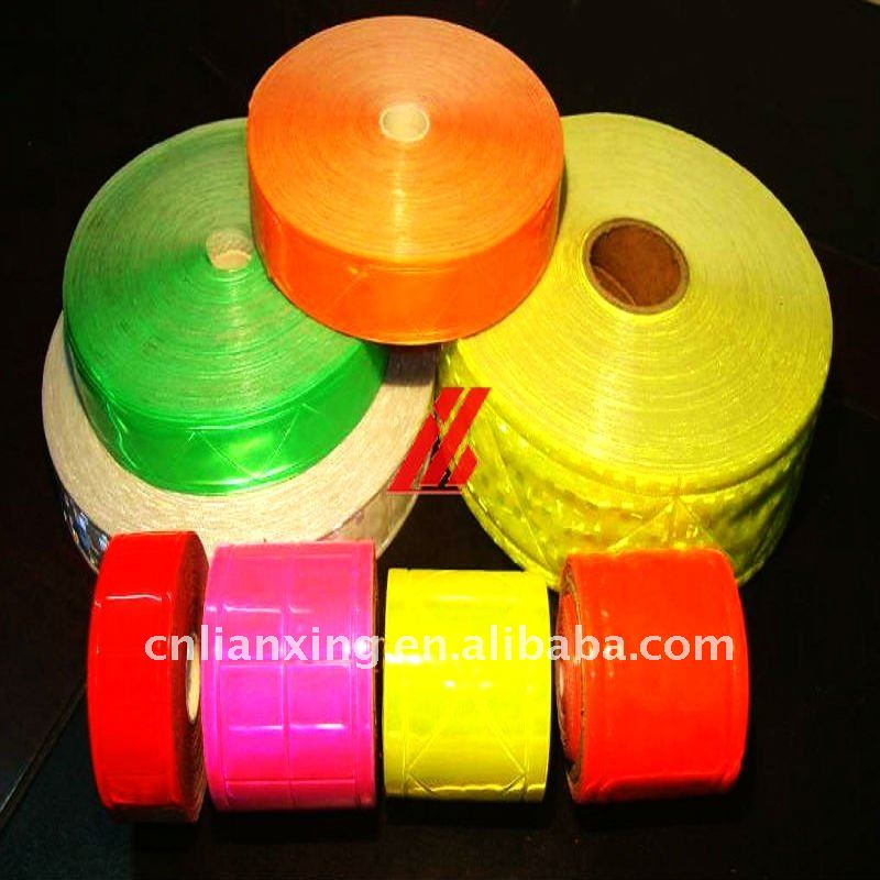 PVC diagonal reflective tape