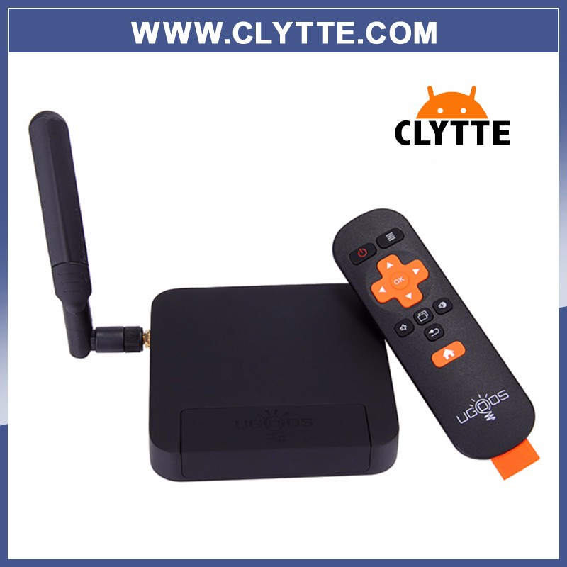 5PCS UT3S CLYTTE Rk3288 quad-core tv <strong>box</strong> ugoos original 4 + 32g <strong>set</strong> <strong>top</strong> <strong>box</strong> 2.4 ghz wi-fi android 5.1.1 <strong>media</strong> player smart tv