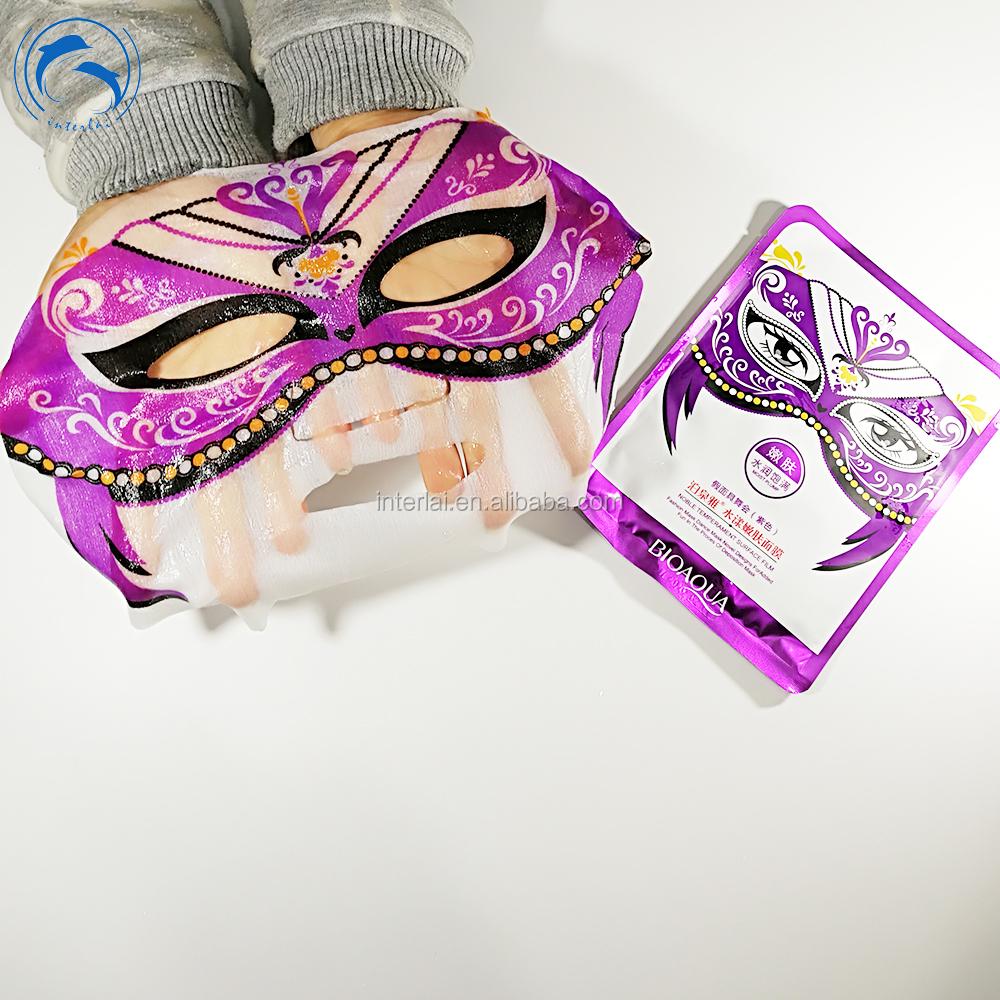 Bioaqua Kostum Partai Masked Bola Menyamar Pesta Wajah Masker Vitamin C Wihitening Kontrol Minyak Pelembab Whitening Penuh