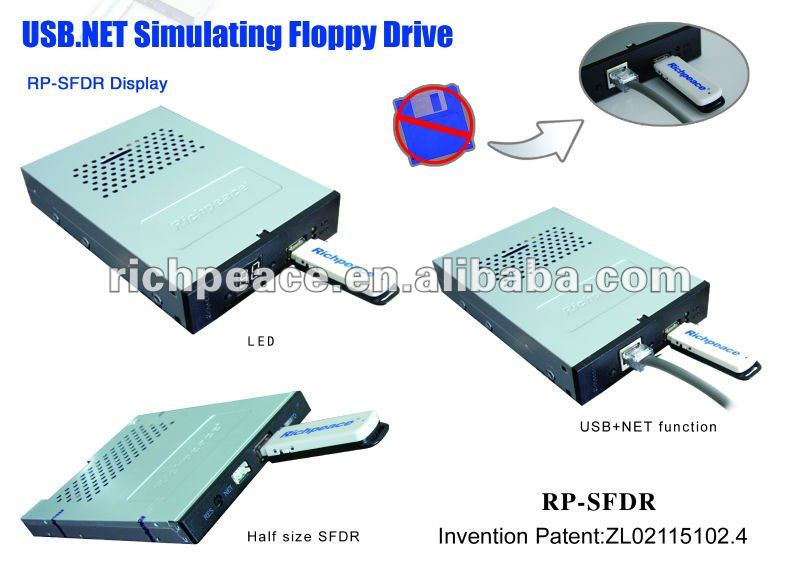 USB Simulating Floppy Drive for Barudan BEMR machine