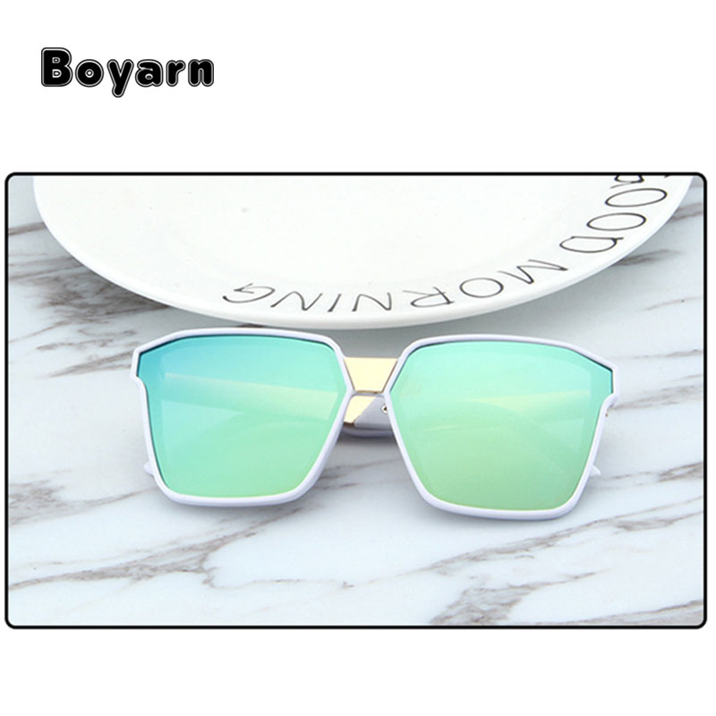 Anak-anak Polygon Colourful Sunglasses Gadis Plastik Bingkai Kacamata Laki-  laki Merek Kacamata Matahari 547916bfb6