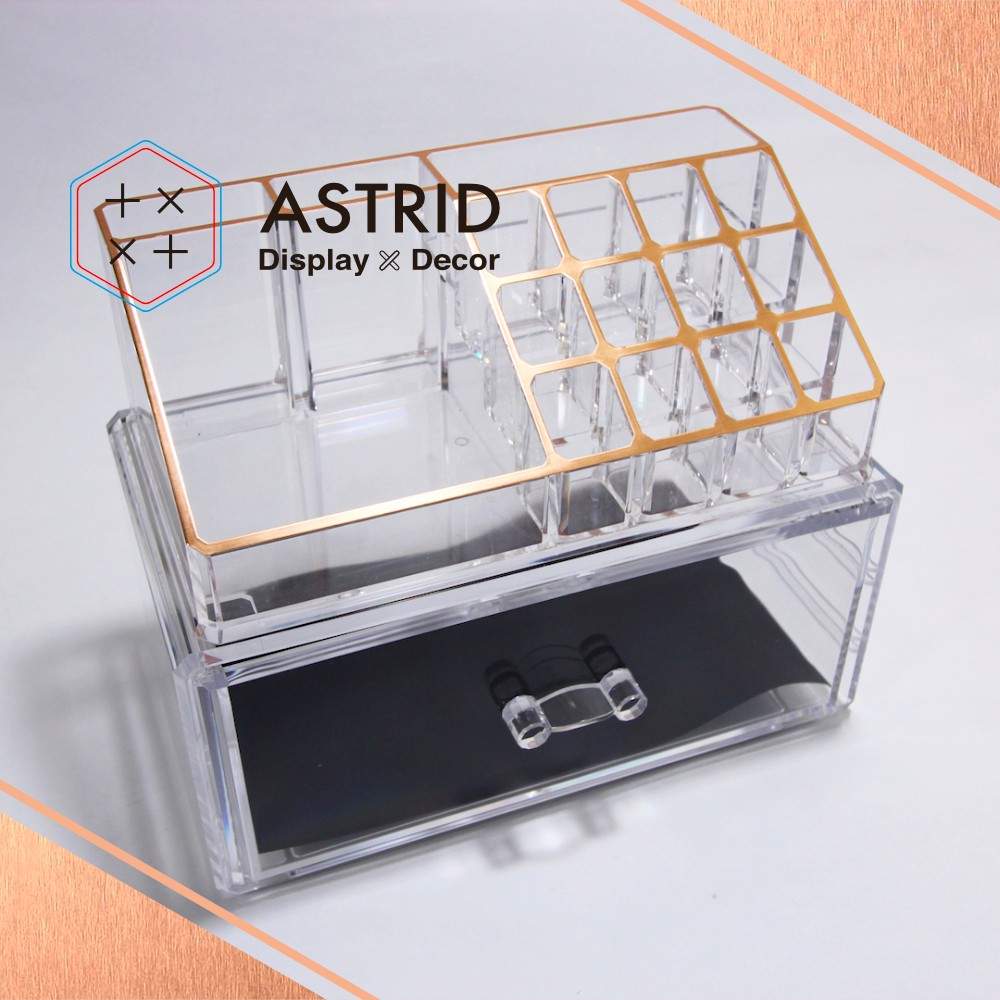 Acrylic Organizer <strong>Set</strong> for cosmetic organizer