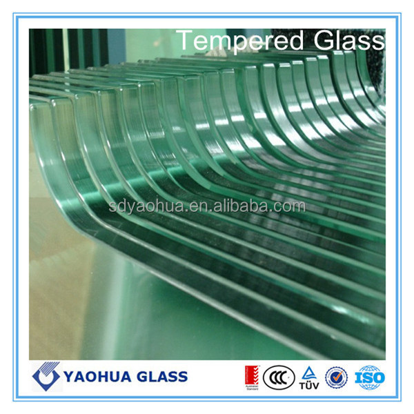 Tempered glass door / pool fence/balustrade glass panel