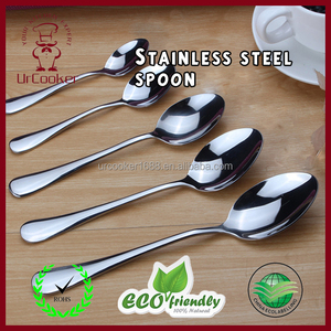 Hot Selling Bulk Cheap Stainless Steel Long Handle Dinner Table Spoon