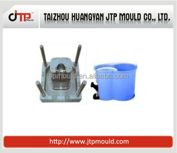 Modern-design spin mop bucket mould
