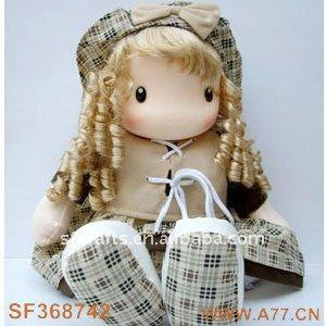 тряпичная кукла фото
