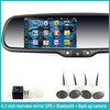4.3 inch gps navigation rearview mirror download google play store rearview mirror navigation