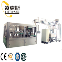 Hot selling glass bottle 3 in 1 filling machine with high quality