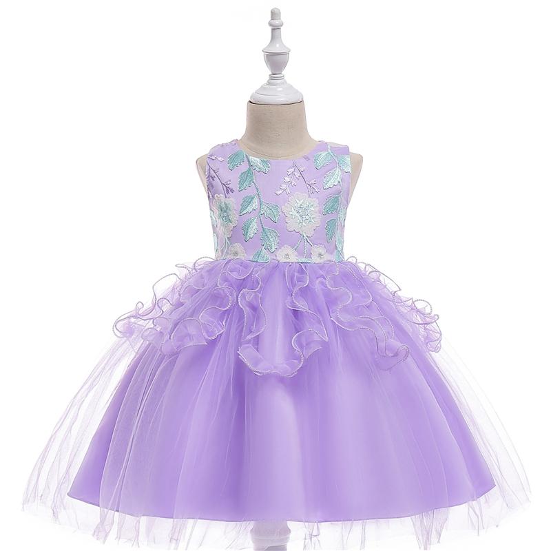 Encuentre el mejor fabricante de vestidos bordados de niña y ...