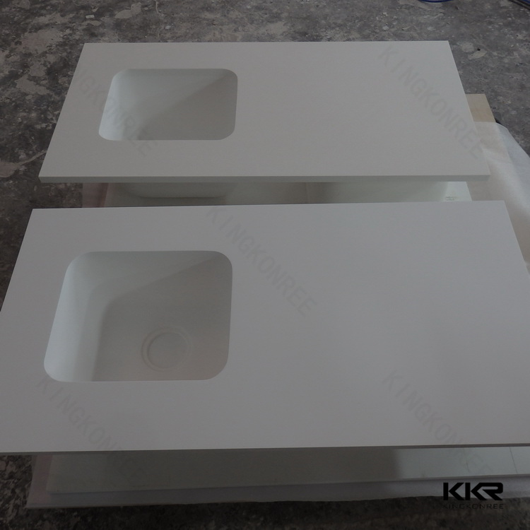 Resin Kitchen Worktops: Used Artificial Stone Worktop Marble Stone Recpetion