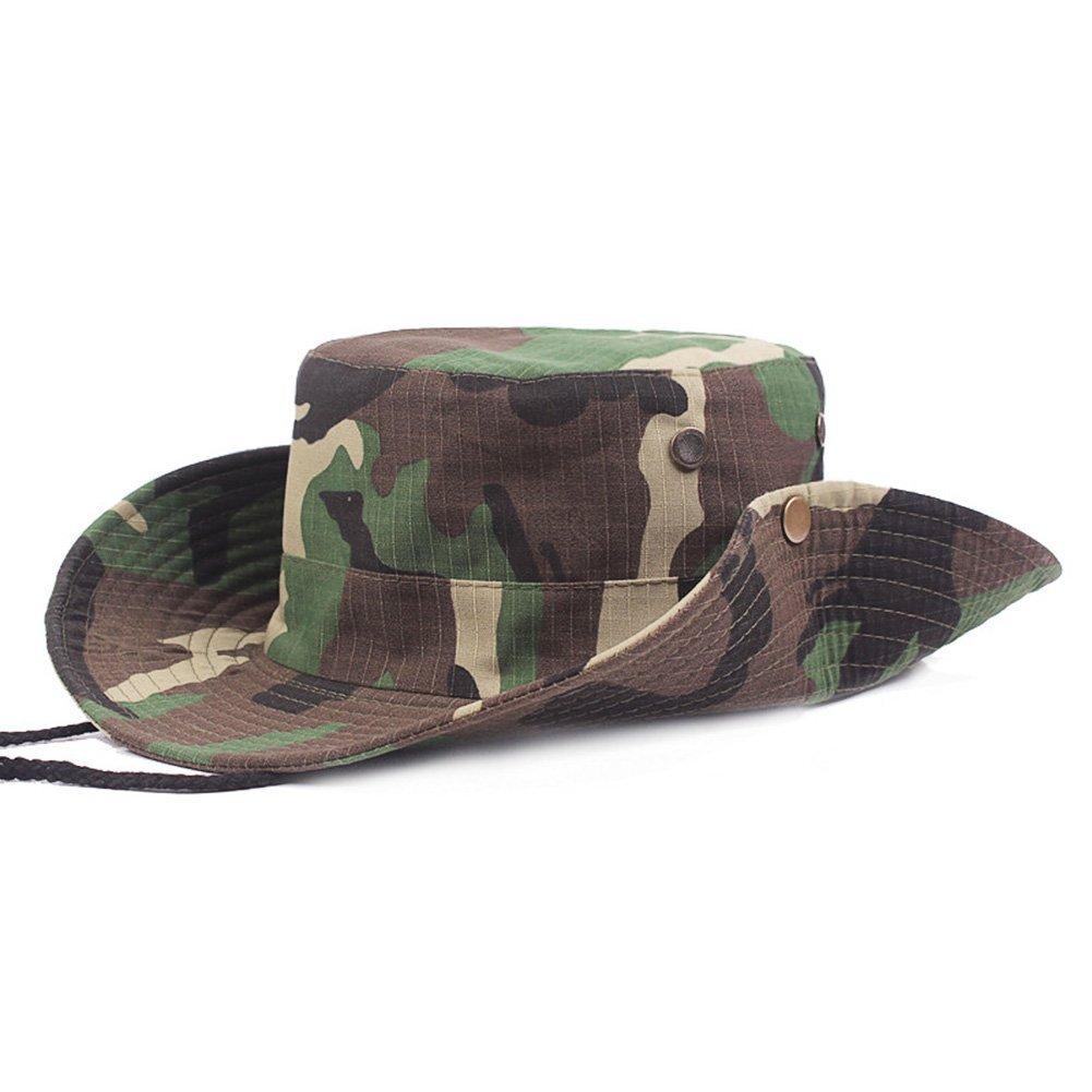 8bf9df6a54a77 Get Quotations · Military Tactical Head Wear boonie Hat Cap for  Wargame