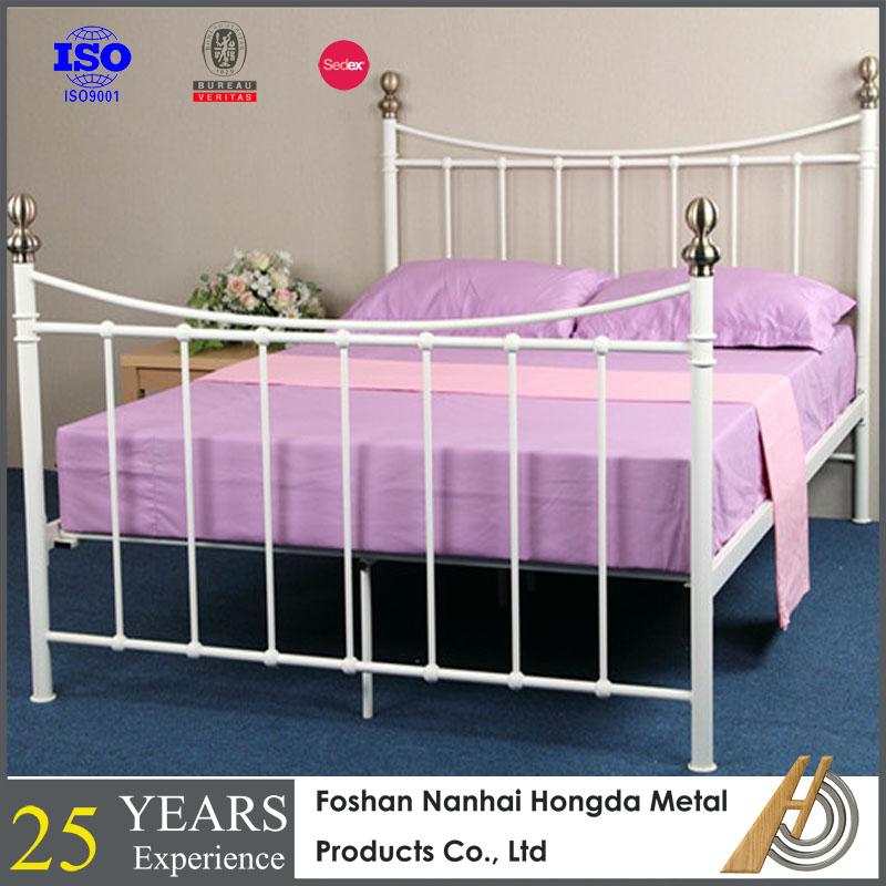 Venta al por mayor camas clasicas en hierro blanco-Compre online los ...