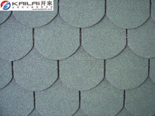Cheap fish scale roofing material asphalt shingles