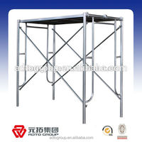 ADTO group supplier high quality walk through scaffolding frame leader frame mason frame construction steel scaffolding