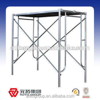 Adto Group Supplier High Quality Walk Through Scaffolding Frame ...