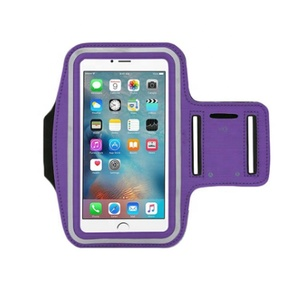 Sports Running Custom Armband with Logo Neoprene Armband Case for iPhone Smartphone