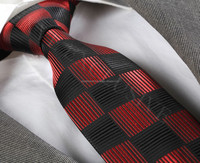 Red and black tie, necktie, neck tie, corbata, gravate, krawatte, cravatta, fashion tie