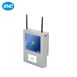 factory price industrial fanless touch screen monitor pc with WiFi RFID Scanning and Zigbee modules
