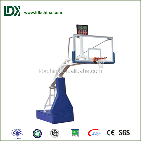 basketball system portbale basketball stand used electric basketball ring
