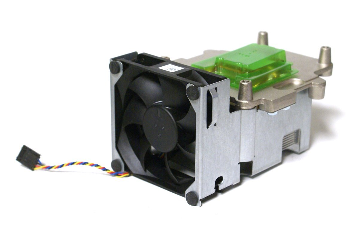 Genuine Dell T278R, U124R, Optiplex 980 SFF Small Form Factor CPU Processor Cooling 5-Pin Heatsink Fan Bracket/Shroud Assembly Compatible Part Numbers: T278R, U124R, (Assembly) DW014, X104R, (Fan), R500R, W126R (Heatsink)