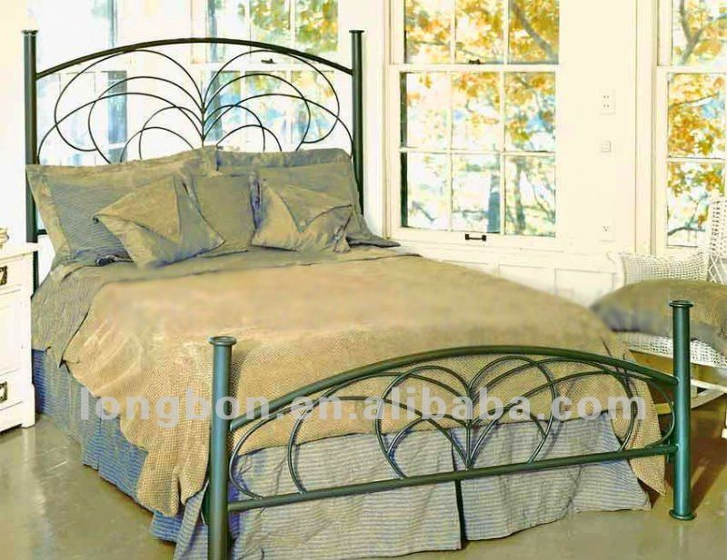 2013 Top selling new bedroom furniture design iron bed. 2013 Top selling New Bedroom Furniture Design Iron Bed   Buy New