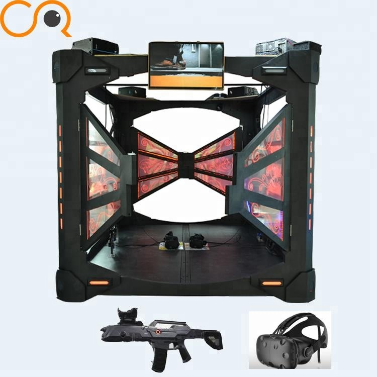 4 k bril indoor racing vr staande machine 9d vr hot koop