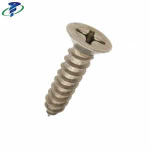 Phillips Countersunk Flat Head Self-tapping Titanium Screw