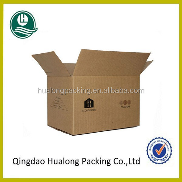 Hot sale recycled corrugated paper box manufacturer