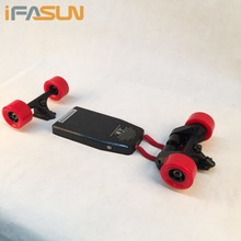 Customized Dual Belt Motor Drive DIY Electric Skateboard Kit