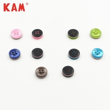 Eco-Friendly Clothes Garment Polyester Resin Custom Color T Shirt Buttons