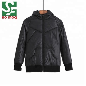 New fashion custom thick men's down coat short design warm winter jacket